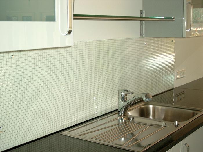 k chenr ckw nde aus glas michael wippenbeck glas spiegel. Black Bedroom Furniture Sets. Home Design Ideas